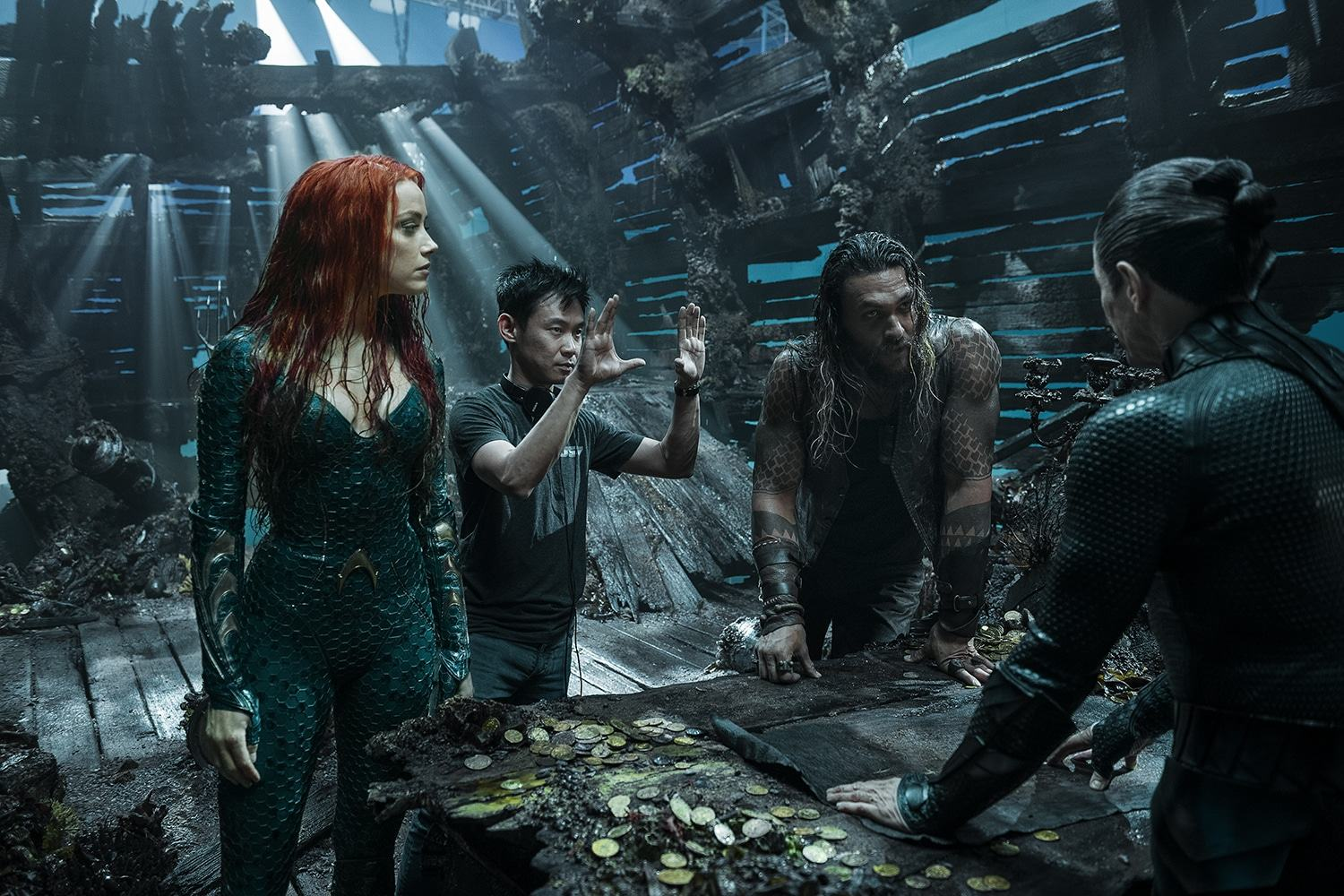 Aquaman - Cast e Regista