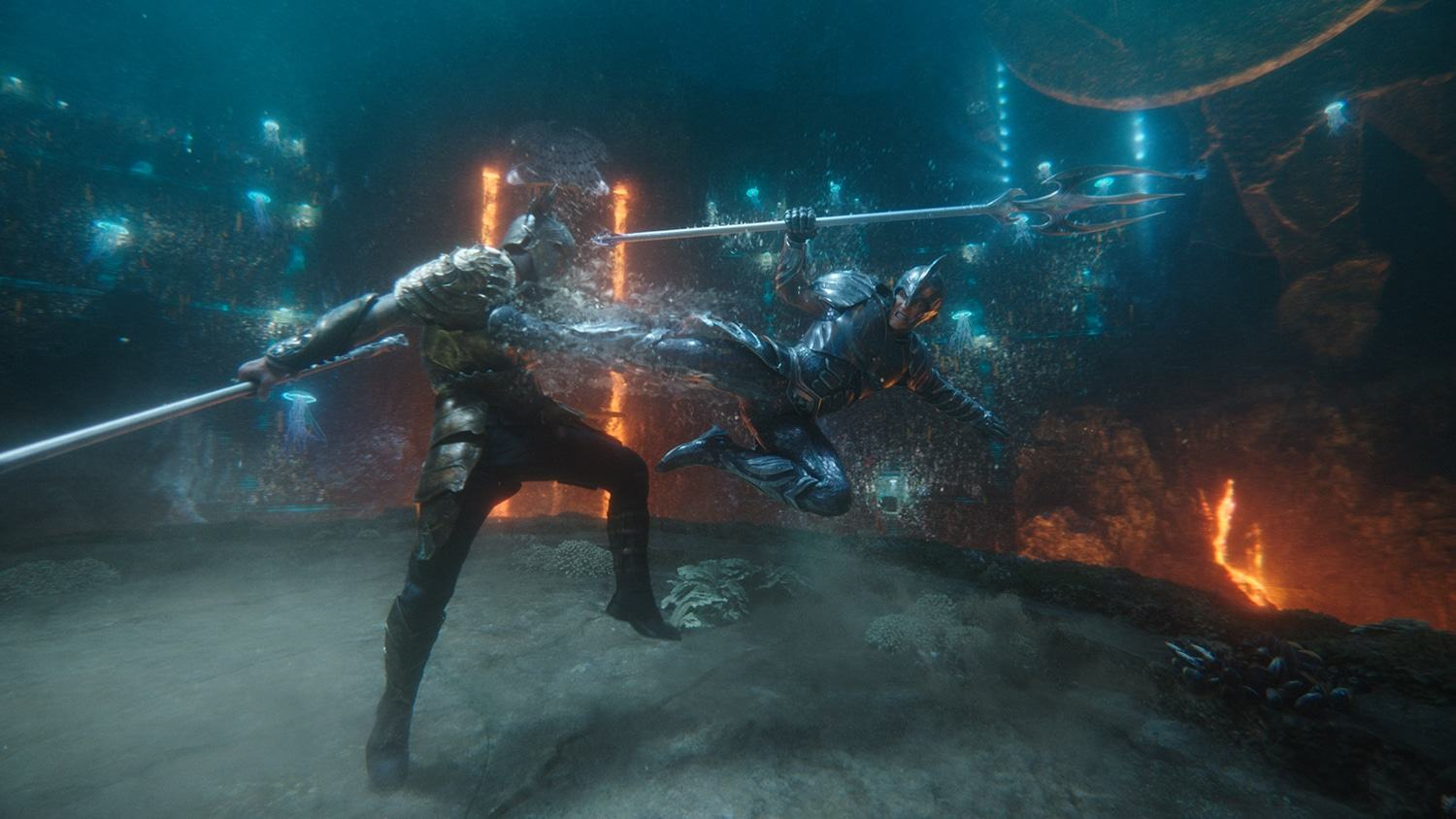 Aquaman - Fight scene - Combattimento