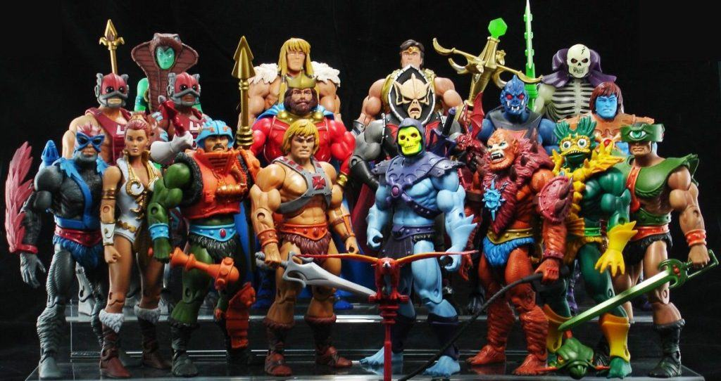action figures Master of the Universe