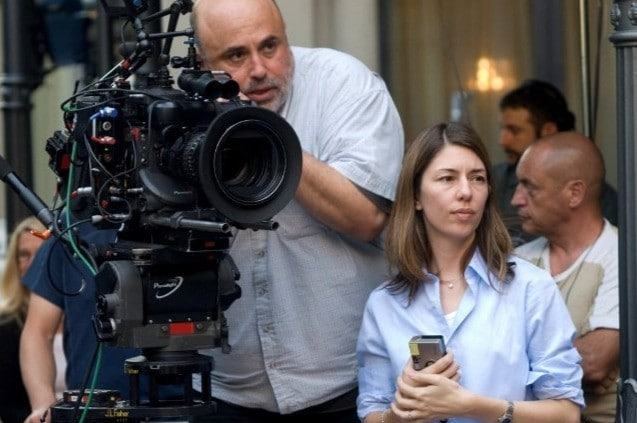 Sofia Coppola sul set di Somewhere