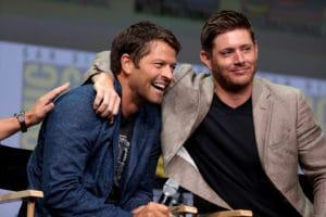 jensen ackles and misha collins love