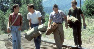 Stand by me, train scene