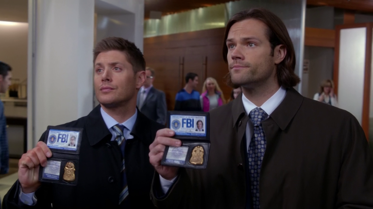 sam and dean winchester fbi
