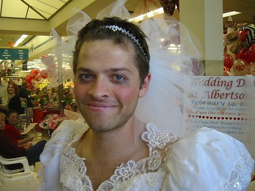 misha collins wedding 1