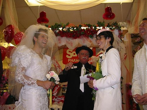 misha collins wedding