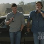 supernatural winchester and impala