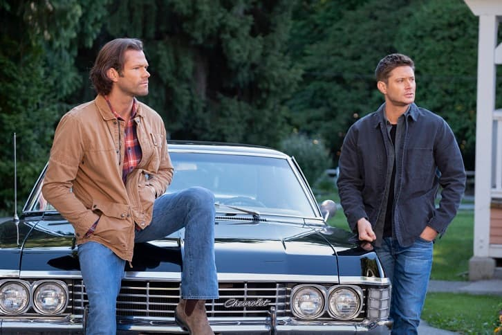 Supernatural-15x20 sam and dean
